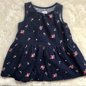 Gap Baby/Toddler Printed Corduroy Dress